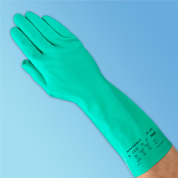 Ansell Nitrile Flock Lined Glove at Harmony Lab & Safety Supplies