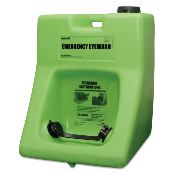 Honeywell Safety 32-000200-0000 Fendall Porta Stream II Eyewash Station with Saline Concentrate by Harmony Lab & Safety