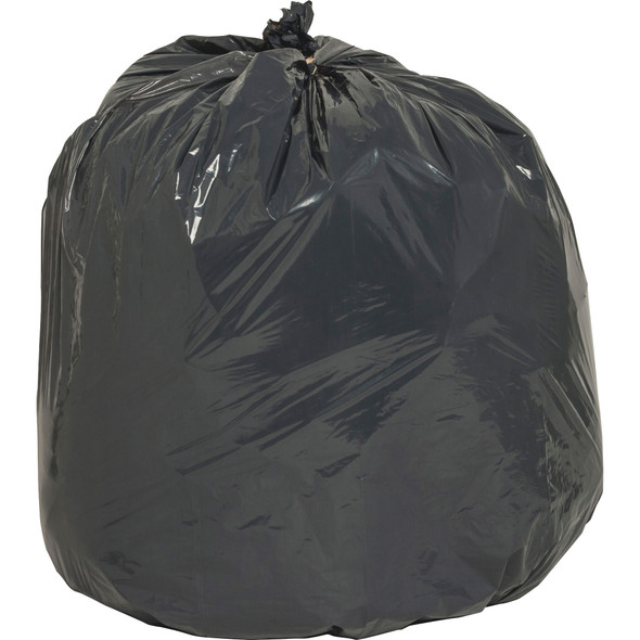 Black Low Density Trash Can Liners, 24 x 33 in., 16 gal, .85 mil, 500/case (NAT00988) | Harmony Lab and Safety Supplies