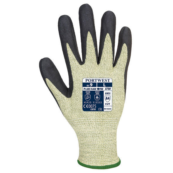 Portwest A780 Arc Rated CAT 2 Cut Resistant Arc Grip Glove (A780E8R)| Harmony Lab and Safety Supplies