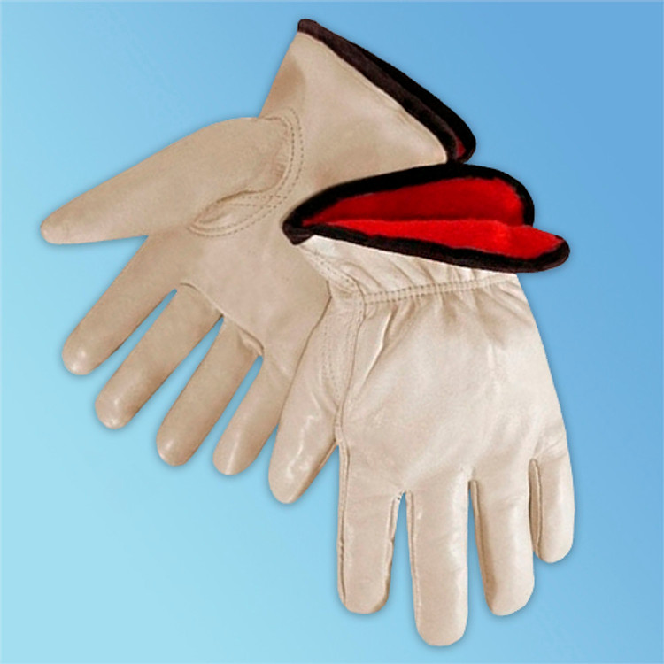 Get Insulated Cowhide Driver Glove, Fleece Lined, 12/pr LIB6227 at Harmony