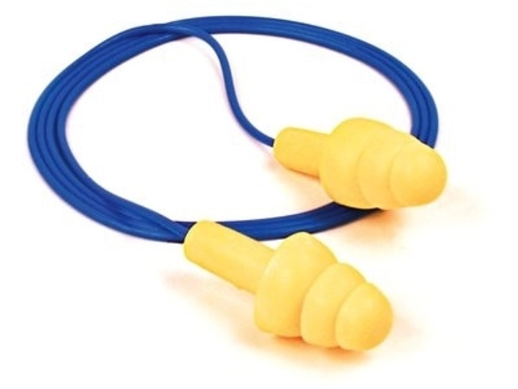Get 3M E-A-R UltraFit Reusable Earplugs, 25 NRR, Corded, 100/box R3-4004 at Harmony