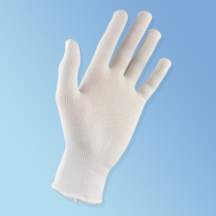 Get Sure Knit Nylon Glove Liners, Lint Free Full Finger, 12 pairs/pack SSTN120 at Harmony
