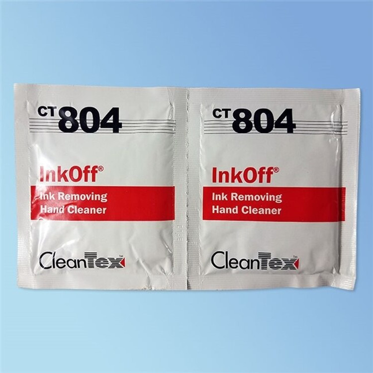 CleanTex CT804 Ink Off Wipes 72/box