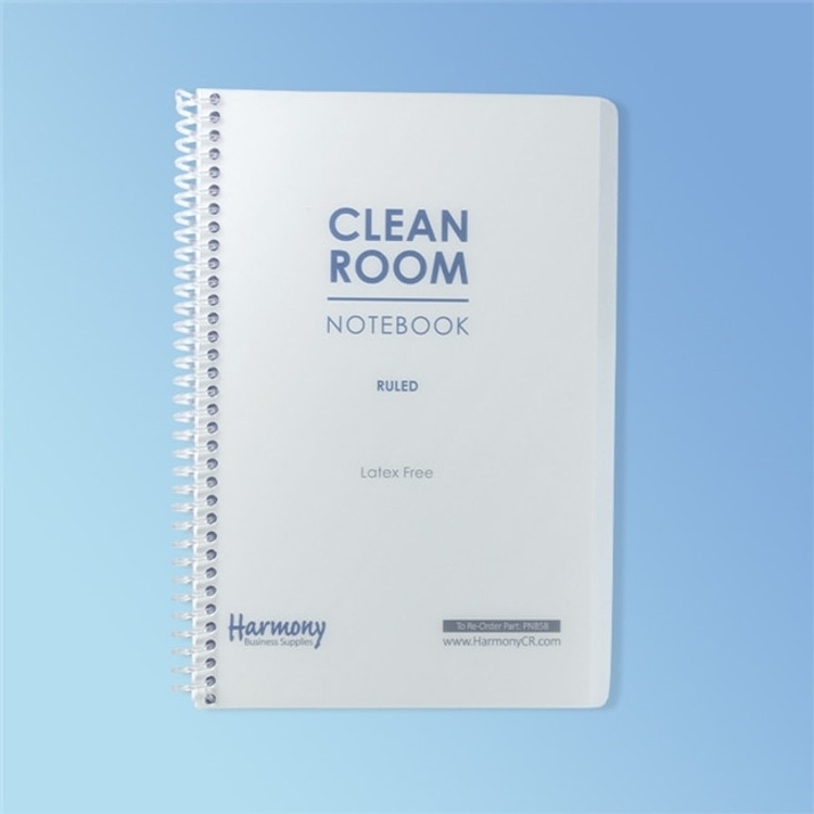"Get Cleanroom Notebook, 28#, 5.5"" x 8.5"" Ruled, 100 Pages, ea PNB58 at Harmony"