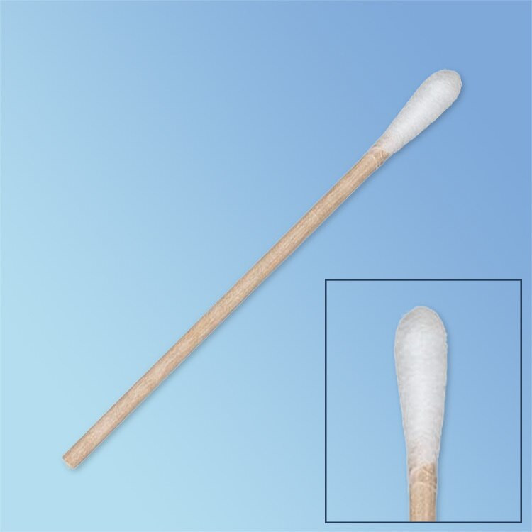 "Get Puritan Regular Tip Cotton Swab, 3"" Wood Shaft 803-WC at Harmony"
