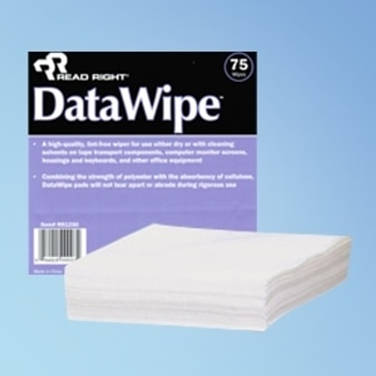 """Get Read Right Data Wipes, 6"""" x 6"""", 75/pack RR1250 at Harmony"""