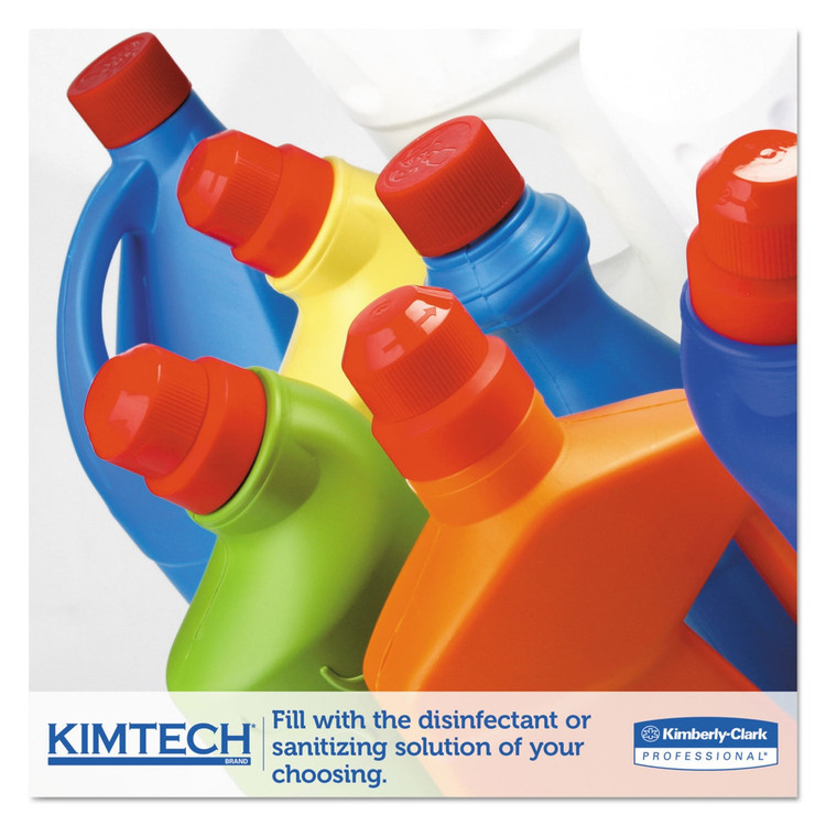 """Get Kimtech WetTask Wipes System, 12"""" x 12.5"""", 90/roll, 6 rolls/case L06411 at Harmony"""
