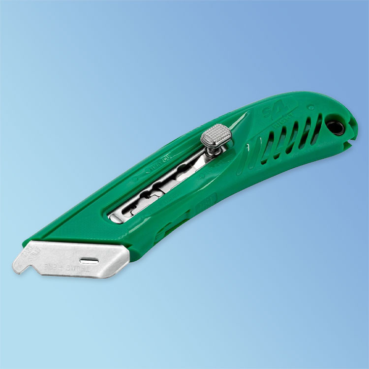 Right-Handed S4 Green Safety Utility Knife (BKN11-S4) Pacific Handy Cutter