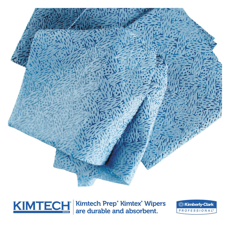 Kimtech Prep KimTex Wipers, 12.5 x 12 in.