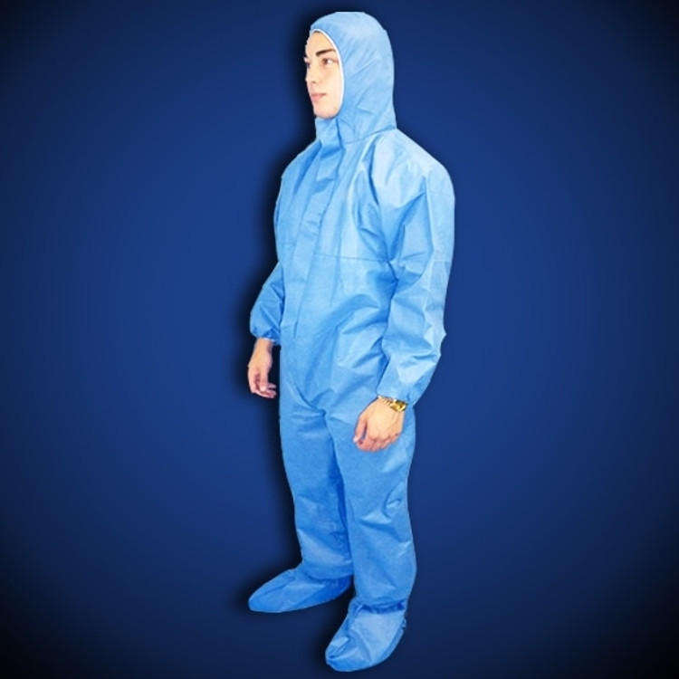 Get ProGard Blue SMS Coveralls with Hood & Boot, 25/cs T190-SMS-BE at Harmony