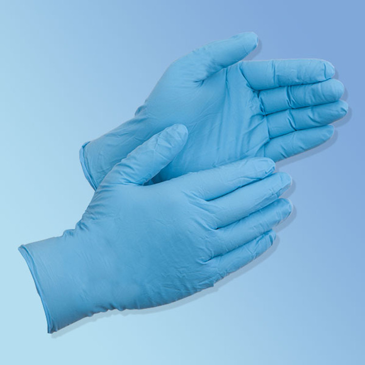 Get DuraSkin 3.5 mil Nitrile Food Service/General Purpose Gloves, Powder Free LT2010W at Harmony
