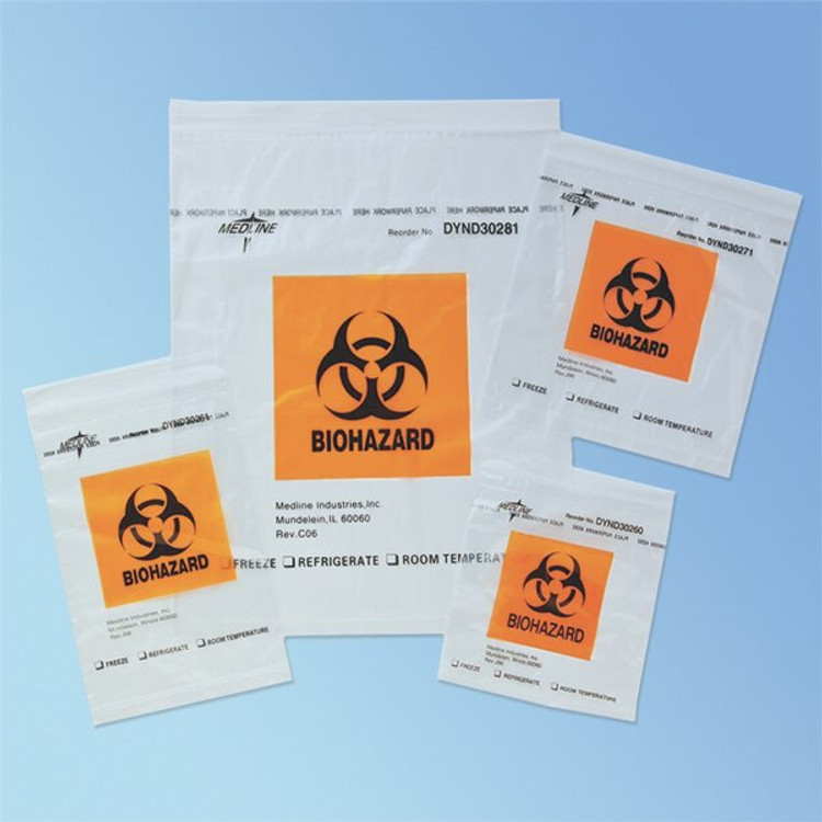 Get Specimen Transport Bags, 100/pack DYND3 at Harmony
