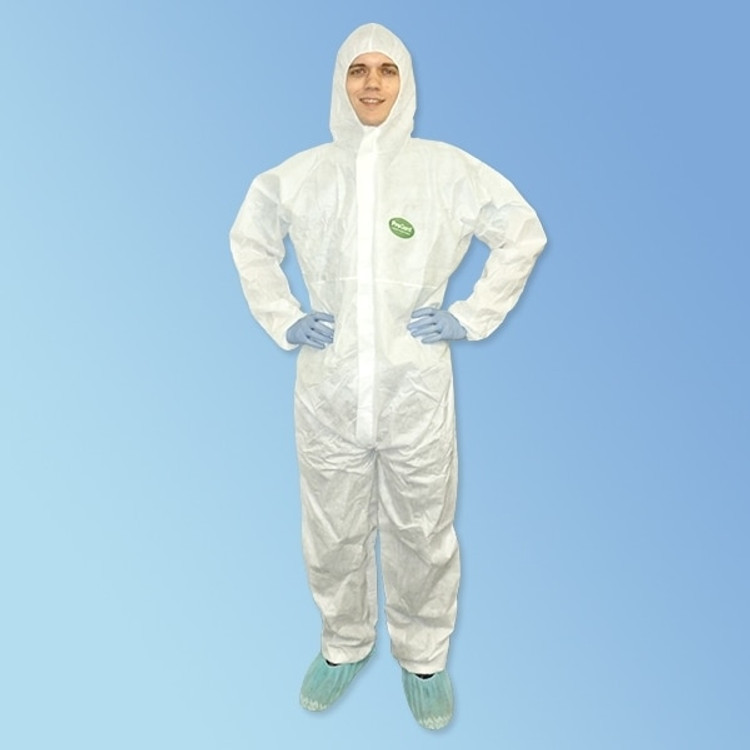 Get ProGard White SMS Coveralls with Hood, 25/case LIB19127 at Harmony
