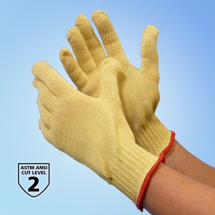 Get 100% Kevlar String Knit Gloves, 12 pairs LB4817Q at Harmony