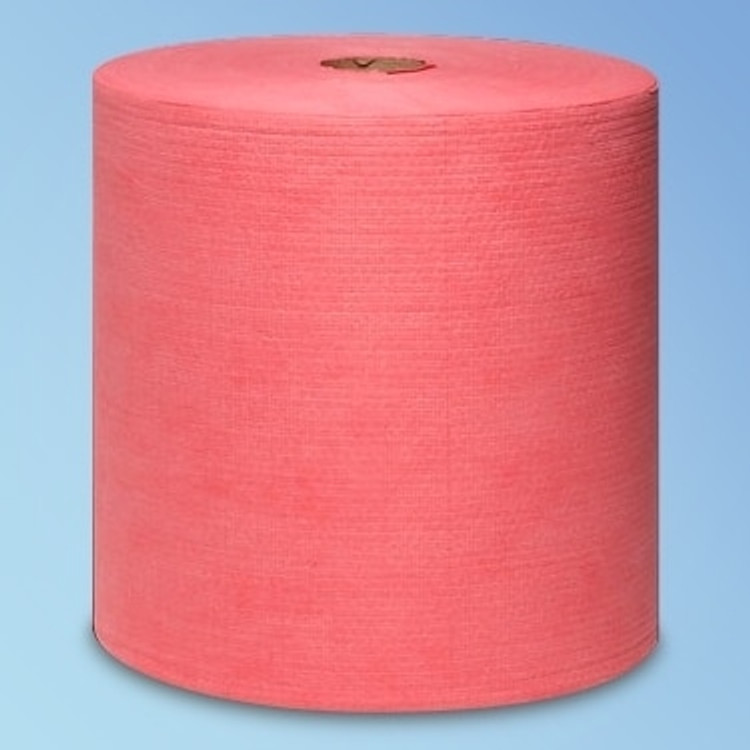 """Get Wypall X80 Jumbo Roll Red Wipes, 12.5"""" x 13.4"""", 475 wipes/roll L41055 at Harmony"""