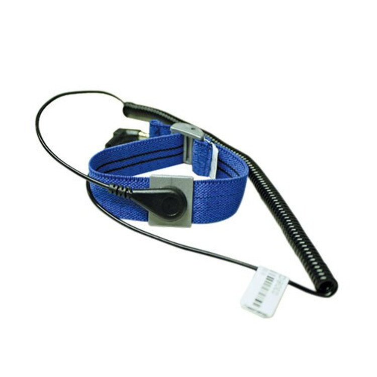 Get ESD Elastic Band Wrist Strap with 6' Coil Cable, ea EESD-1011 at Harmony