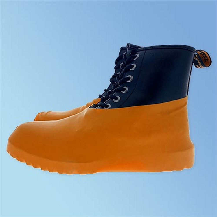 Get Keystone Heavy Duty Disposable Latex Shoe Covers in Large and Extra-Large (BC-RBR) at Harmony