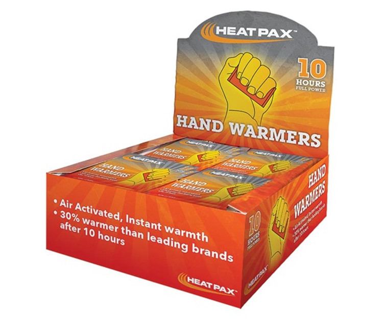 OccuNomix HeatPax Hand Warmers, 40/pack (1100-80D) at Harmony Lab & Safety.