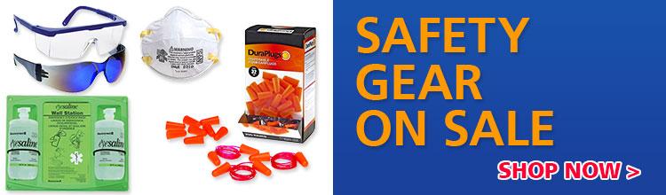 safety gear on sale