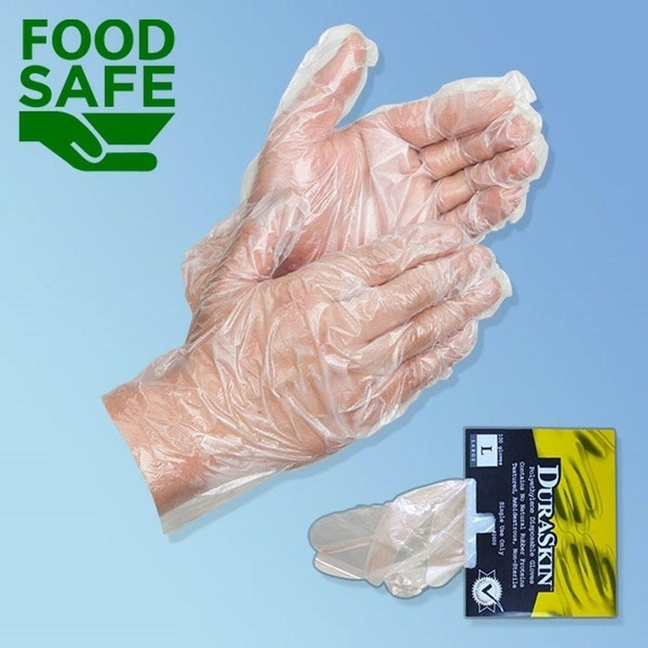 polyethylene food gloves