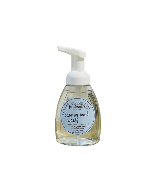 Foaming Hand Soap, with anti-bacterial extracts