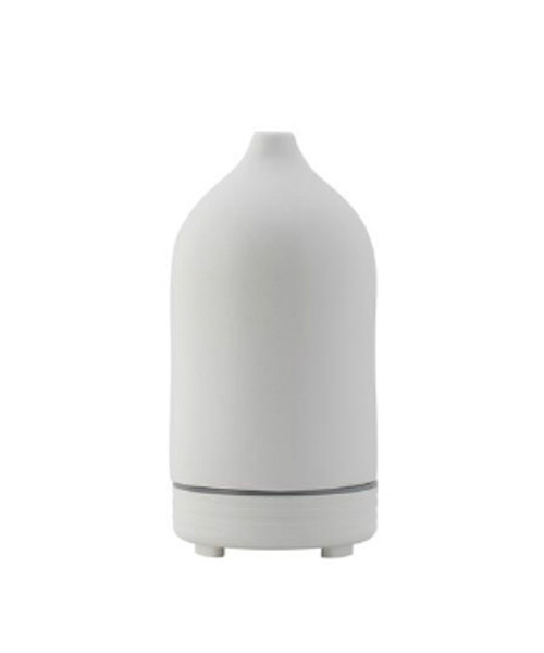 Ultrasonic Essential Oil Diffuser, Ceramic White