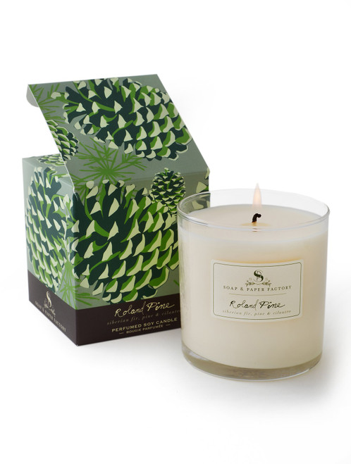 Roland Pine Soy Candle, 9.5 oz