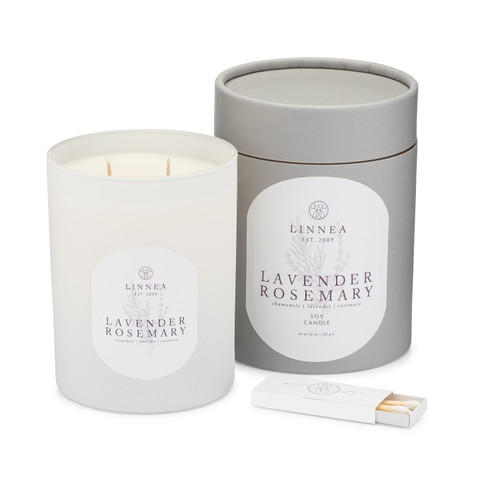 Lavender Rosemary, 2-wick candle