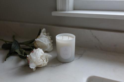 Petals, 2-wick candle