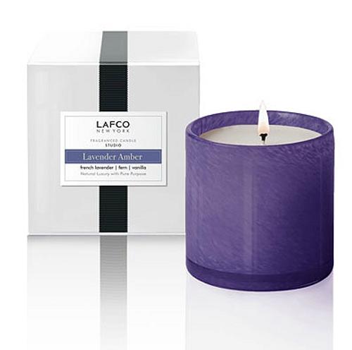{Lavender Amber} Studio Candle