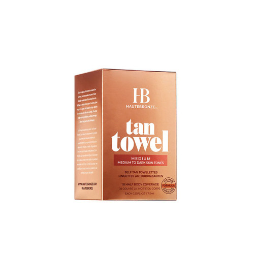 Tan Towel - Body, box of 10
