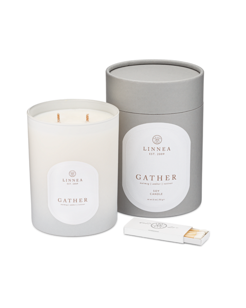 Gather, 2-wick candle
