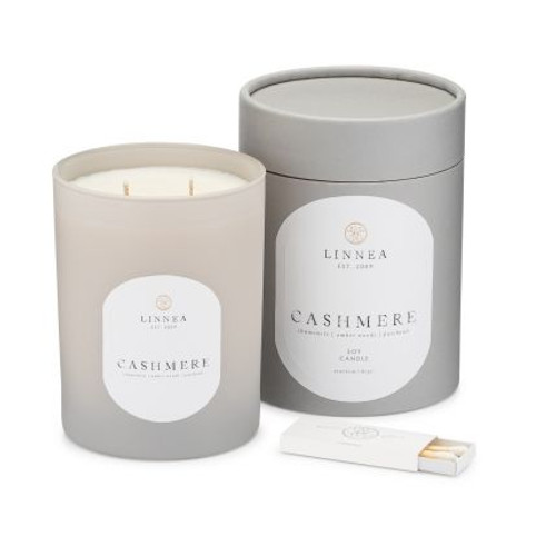 Cashmere, 2-wick candle