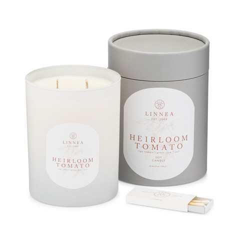 Heirloom Tomato, 2-wick candle
