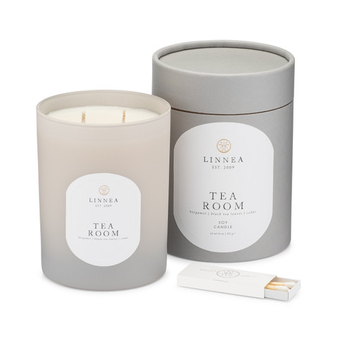 Tea Room, 2-wick candle