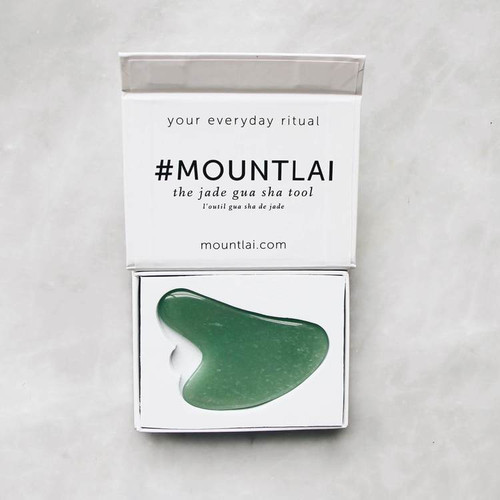The Jade Gua Sha Facial Lifting Tool