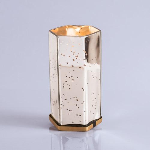 Volcano Mercury Hexagon candle, 17 oz