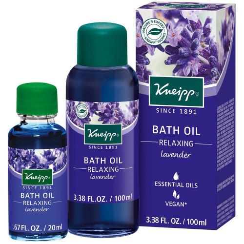 Herbal Bath Oil, Relaxing Lavender