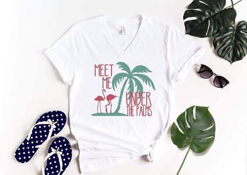 Meet Me Under The Palms T-Shirt