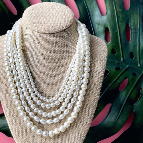 Preppy Pearl Perfection Necklace