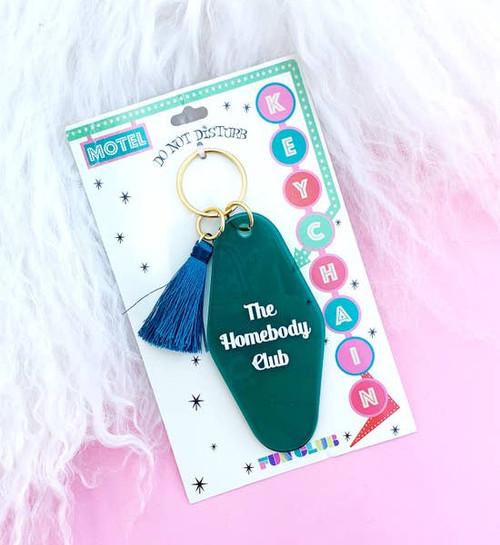 The Homebody Club Key Chain