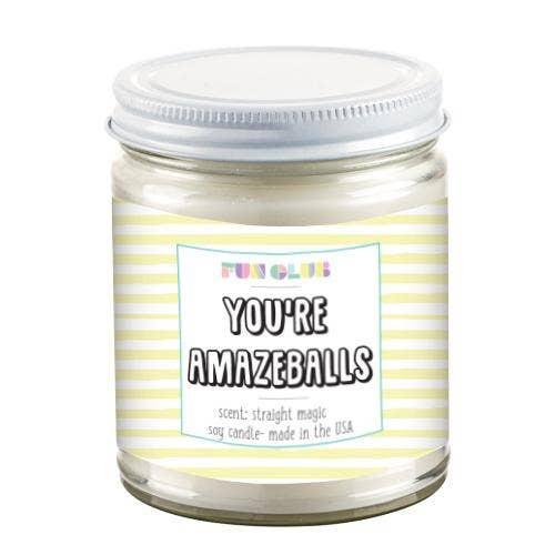 You're Amazeballs Candle