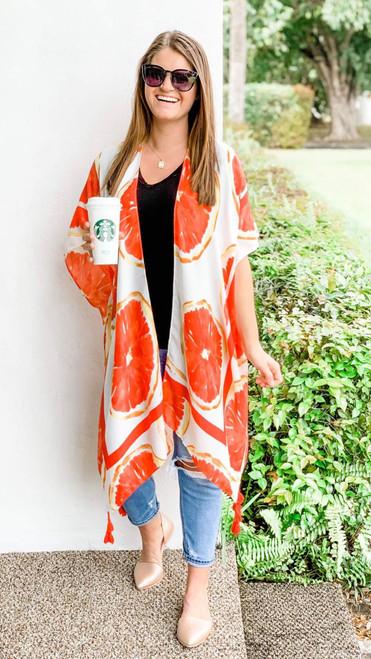 Feeling Fruity Kimono