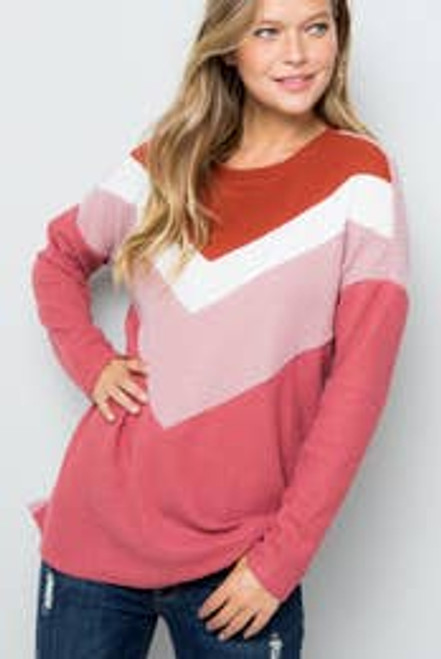Be My Valentine Blush Sweater