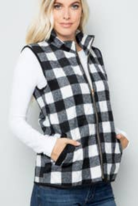 Perfectly Plaid Vest