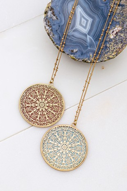 Lead the Way Compass Necklace