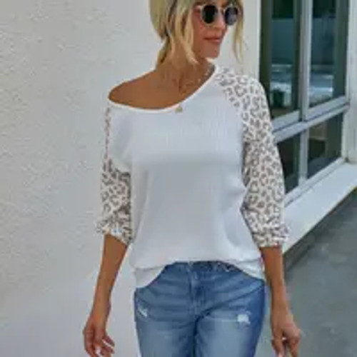 Laid Back Leopard Top