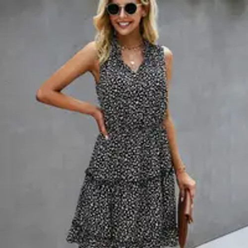Lost In the Dots Dress