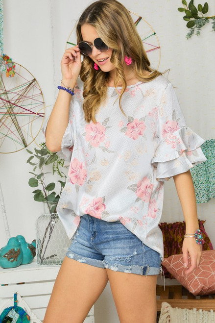 Sunny Days Floral Top